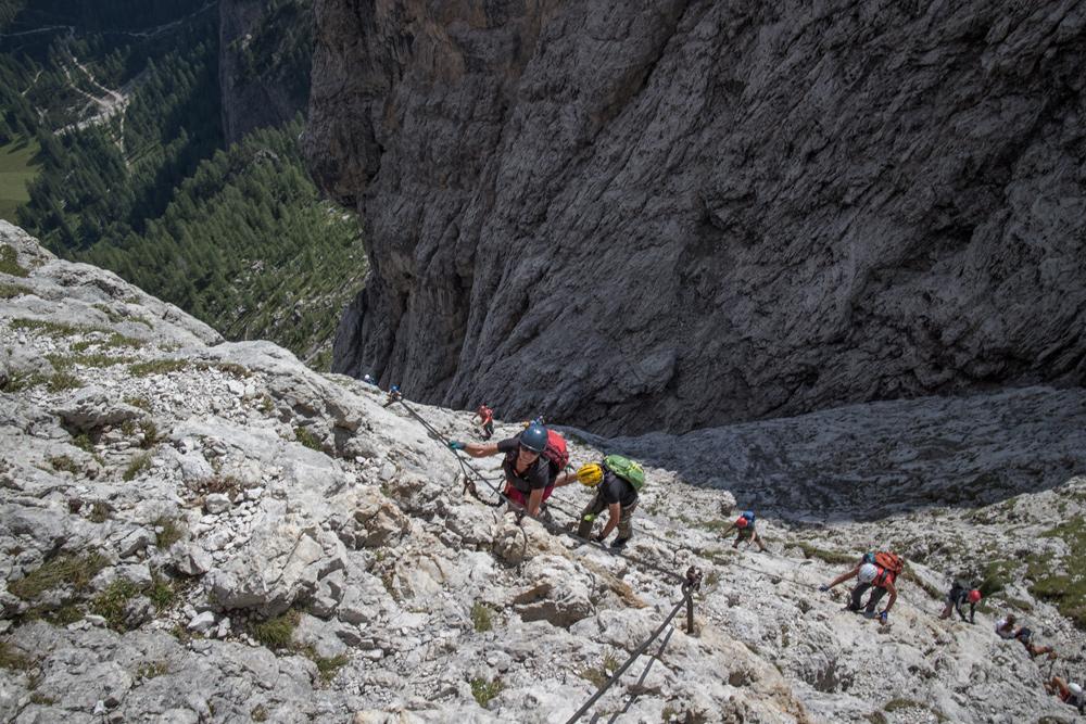 Klettersteig Piz Boe : Klettersteige in der sellagruppe dolomiten bayerwaldpfade