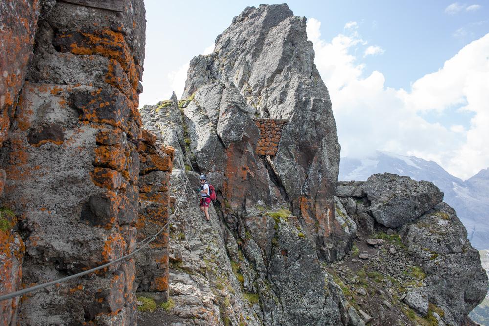 Klettersteig Plattkofel : Klettersteige in der sellagruppe dolomiten pepes bayerwaldpfade