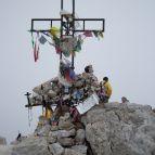 Piz Boe (3152m) - Gipfelkreuz