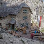 Abstieg bis zur Langkofelhütte