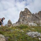 Aufstieg zum Klettersteig