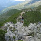 Die letzten Meter zur Hagener Hütte