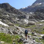 Bei Mittelberg - Aufstieg zur Braunschweiger Hütte