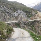 Weg zur Martin-Busch-Hütte (2501m)