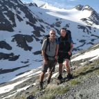 Aufstieg zur Similaunhütte am Niederjoch