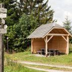 Fürstenhut - Wandererunterstand bei Scheureck (Zdarek)