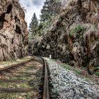 Gleis der Ilztalbahn
