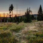 Sonnenaufgang am Grenzsteig