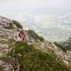 Hochstaufen - Felsensteig an der Südflanke