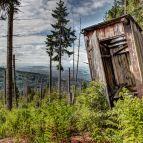 Hochwalddistriktsteig Ostteil - Große Aussicht beim kleinen Häuschen