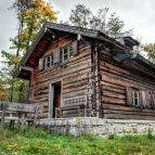 Hirschkopfhütte im Freilichtmuseum