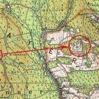 Hirschkopfhütte, Karte