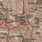 Alte Karte v. 1920