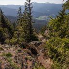 Osser Südgrat - Blick zum Arber