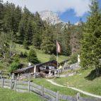 Abstieg ins Tal - Steinalm