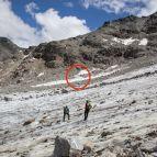 Felssturz - ein größerer Felsen stürzte herab