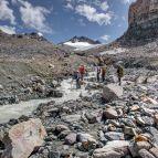 Überquerung Gletscherbach