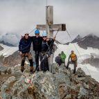 Gipfelfoto vom Piz Buin (3312m)