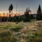 Sonnenaufgang am Grenzzsteig