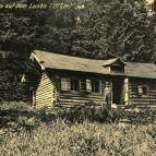 Die Lusenhütte, Schutzhütte am Lusen um 1910