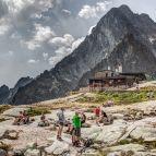 Hohe Tatra - Téryho chata, die höchste Berghütte auf 2015m