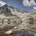 Hohe Tatra - Bergsee am Päť Spišských plies (dt. Fünf Zipser Seen)