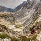 Sedlo prielom (Prielom Sattel, 2290m)