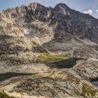 Hohe Tatra - Blick vom Prinzensattel - Päť Spišských plies (dt. Fünf Zipser Seen)