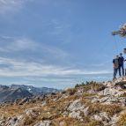 Gipfelkreuz am Hinterunnütz