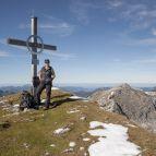 Gipfelkreuz am Vorderunnütz