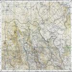 Alte topografische Karten vom heutigen NP-Gebiet *