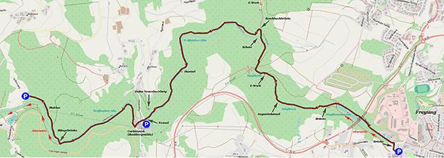 Karte Buchberger Leite