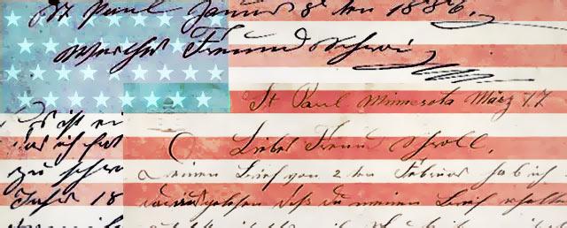 Historische Auswandererbriefe von 1886