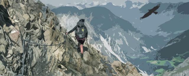 Durch die Lechtaler Alpen - Adlerweg, Lechtaler Höhenweg